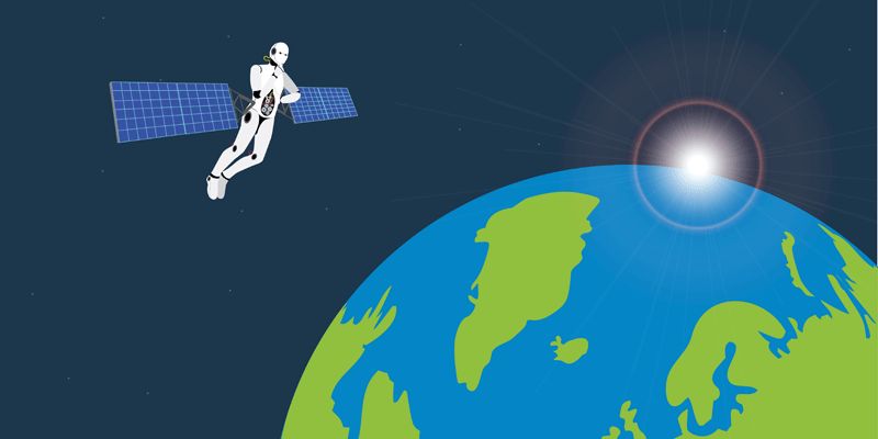 Satellietdata en AI voor aarde